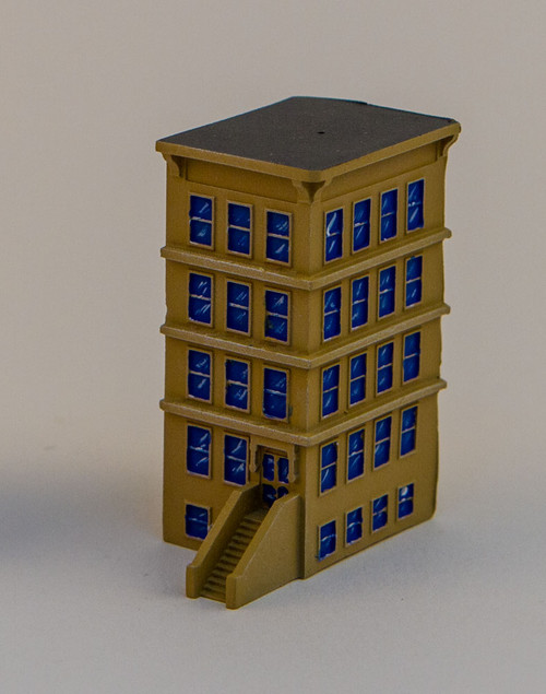 "6mm ""Brownstone"" Corner Building - 285MEV128"