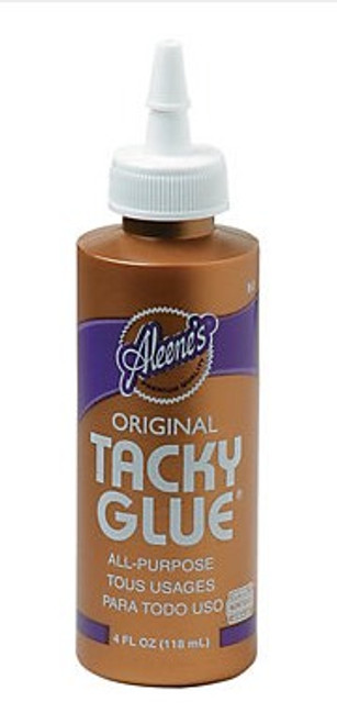 Aleenes Tacky Glue 4oz - Great for Matboard Kits
