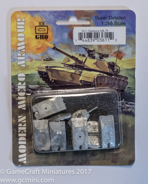 Merkava Mk IV - Newest version of IDF MBT (5/pk) IS11