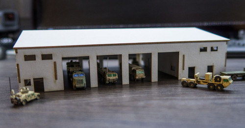 Motorpool Building (Matboard) - 285CSS025