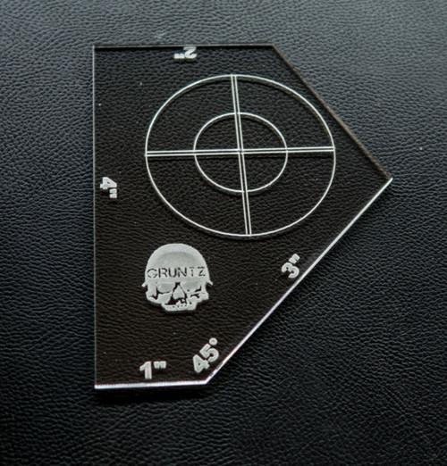 Gruntz 15mm™ Movement Templates