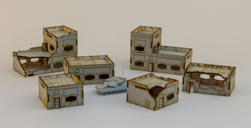 6mm Ultra Modern / Future City Buildings (6) - 285CSS165