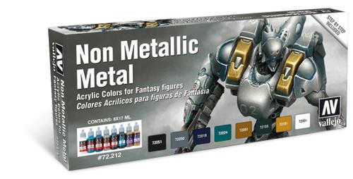 Model Color Set: Non-Metallic Metal (8)