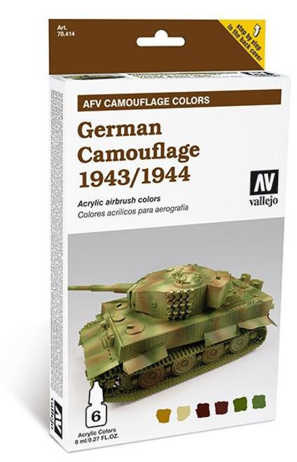 Model Air Set: AFV System German Camouflage 1943/1944 (6)