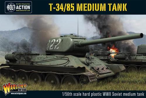 Bolt Action: Soviet T34/85 Soviet Medium Tank