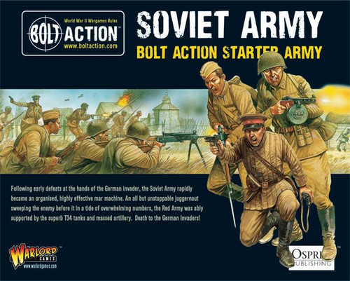 Bolt Action: Soviet Russian Starter Army