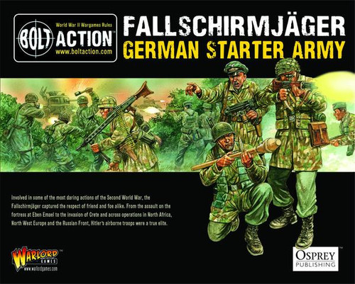Bolt Action: NEW Fallschirmjager Starter Army