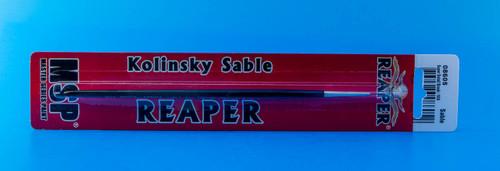 Reaper Kolinsky Sable Small Detail Brush (#10/0 Round)