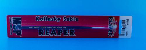Reaper Kolinsky Sable Super Fine Detail Brush (#20/0 Round)