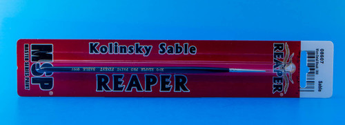 Reaper Kolinsky Sable Micro Detail Brush (30/0 Round)