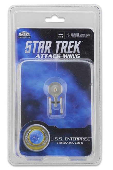Star Trek Attack Wing: Wave 24 Federation U.S.S. Enterprise Expansion Pack (2016 Paint)