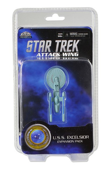 Star Trek Attack Wing: Wave 02 Federation U.S.S. Excelsior Expansion Pack