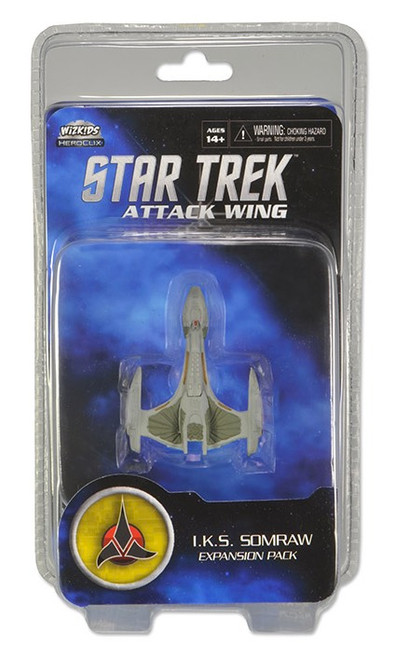 Star Trek Attack Wing: Wave 03 Klingon I.K.S. Somraw Expansion Pack
