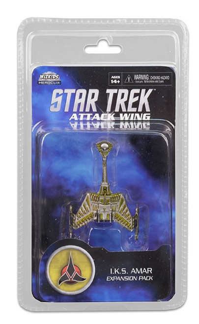 Star Trek Attack Wing: Wave 23 Klingon I.K.S. Amar Expansion Pack