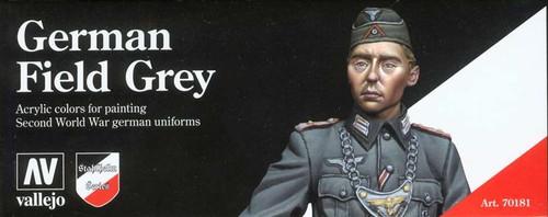 Model Color Set: German Field Grey (8)