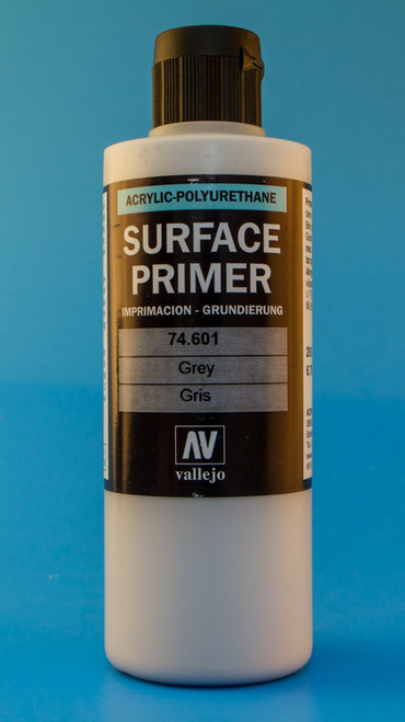 Vallejo: Grey Primer (200ml)