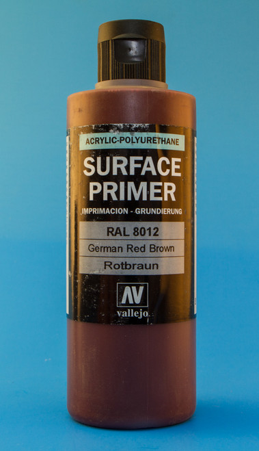 Vallejo: German Red Brown RAL 8012 (200ml)