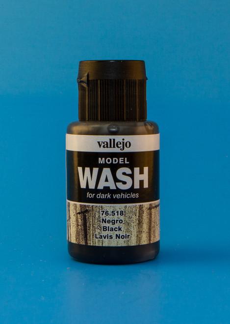 Vallejo Model Wash: Black (35ml)