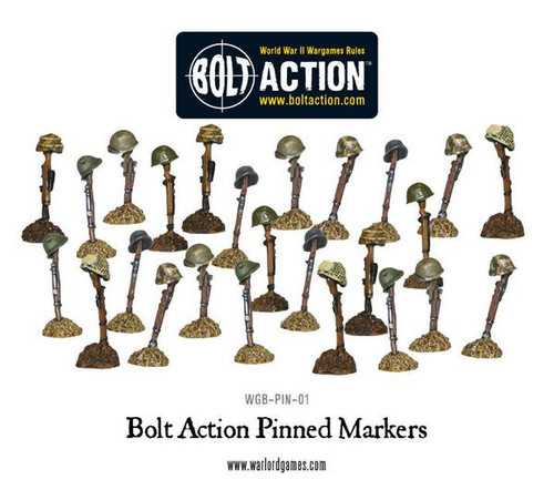 Bolt Action: Pinning Markers (25)