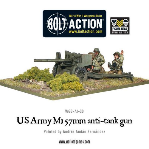 Bolt Action: US Army 57mm Anti-Tank Team
