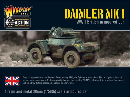 Bolt Action: British Daimler Armoured Car