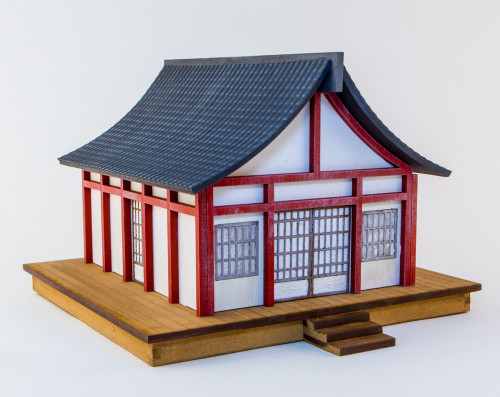 28mm Japanese Style House  - 28MMDF177