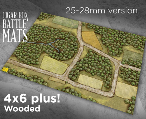 Battle Mat - Wooded (28mm Version)