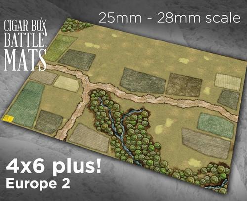 Battle Mat - Europe 2 (28mm Version)