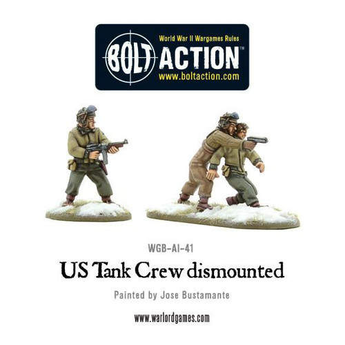 Bolt Action: US Tank Crew dismounted