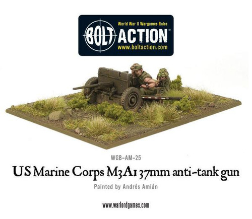Bolt Action: USMC M3A1 37mm Anti-Tank Gun