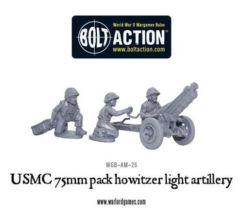 Bolt Action: USMC 75mm Pack Howitzer Light Artillery