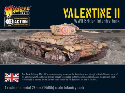 Bolt Action: Valentine II Cruiser Tank