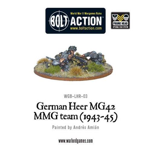 Bolt Action: German Heer MG42 MMG Team