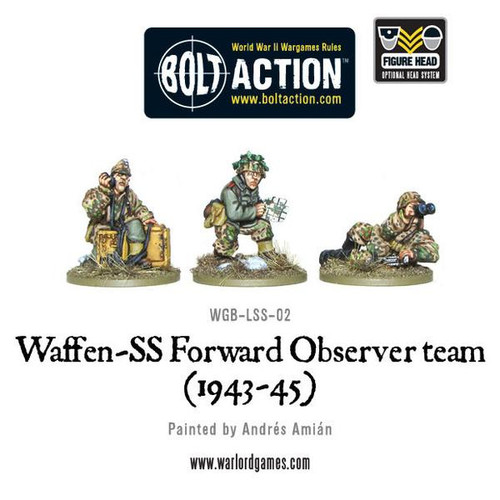 Bolt Action: SS Forward Observer Team