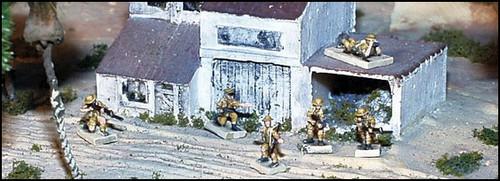 WWII UK Individual Infantrymen - Desert - UK70