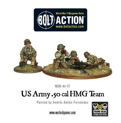 Bolt Action: US Army 50 Cal HMG Team