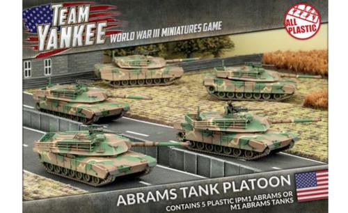 M1 Abrams Tank Platoon (Plastic)