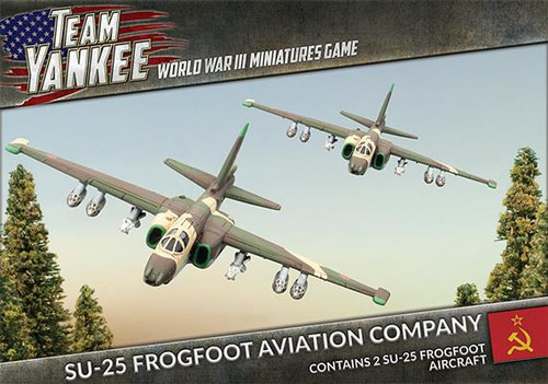 Team Yankee:  SU-25 Frogfoot Aviation Company