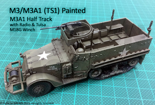 M3 / M3A1 Half Track (1:56th scale / 28mm)