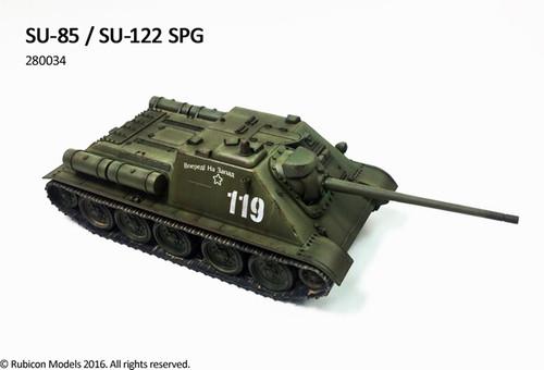 Rubicon Models SU-85 / SU-122 SPG