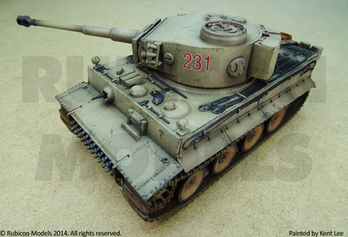 Tiger I Ausf E (1:56th scale / 28mm)