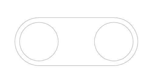 "Movement Tray for 1"" (25mm) Bases - BAtray2a"