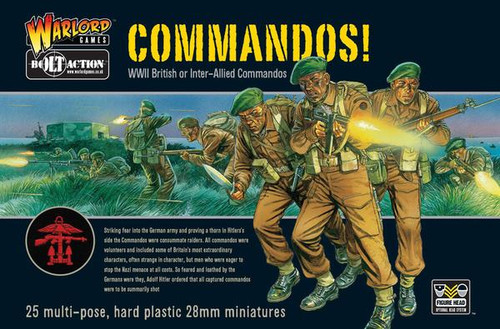 Bolt Action: British Commandos! (25)