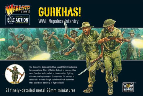 Bolt Action: British Gurkhas