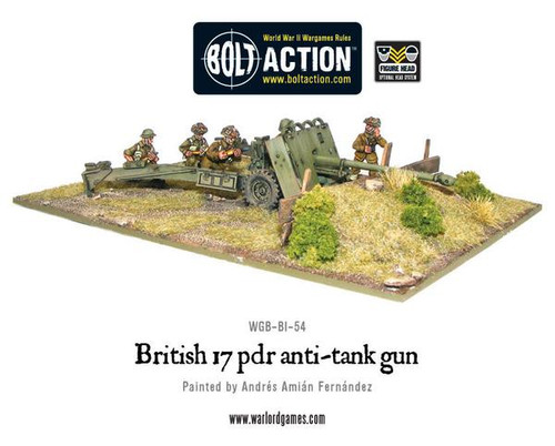 Bolt Action: British Army 17 pdr Anti-tank Gun