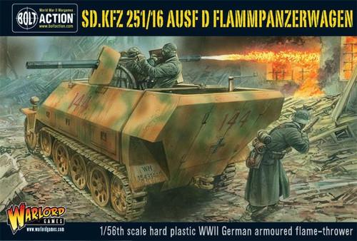 Bolt Action: Sd.Kfz 251/16 Ausf D Flammenpanzerwagen