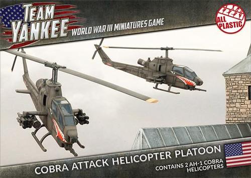 Team Yankee:  Cobra Attack Helicopter Platoon (Plastic)