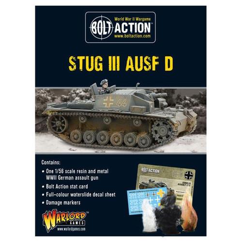 Bolt Action: Stug III Ausf D