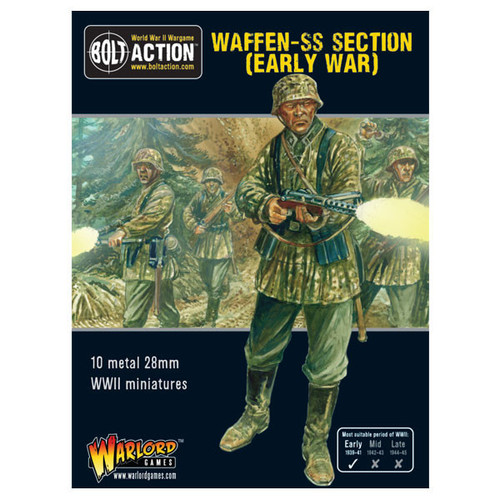 Bolt Action: Early War Waffen-SS squad