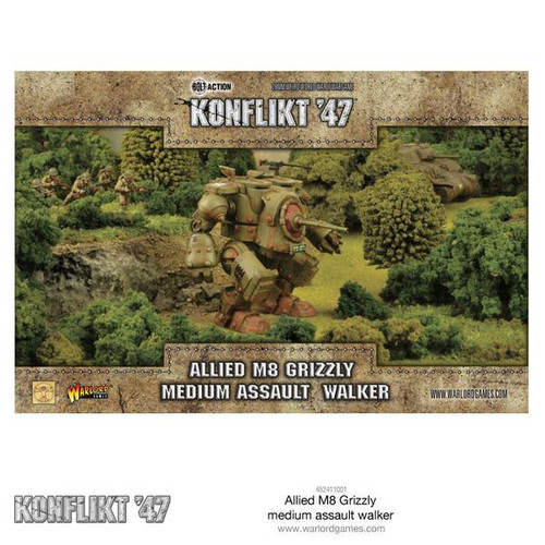 Konflikt '47 Allied Grizzly Medium Walker